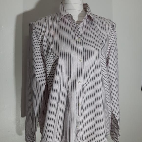 Ralph Lauren No Iron Xlarge Pin Stripe Dress shirt
